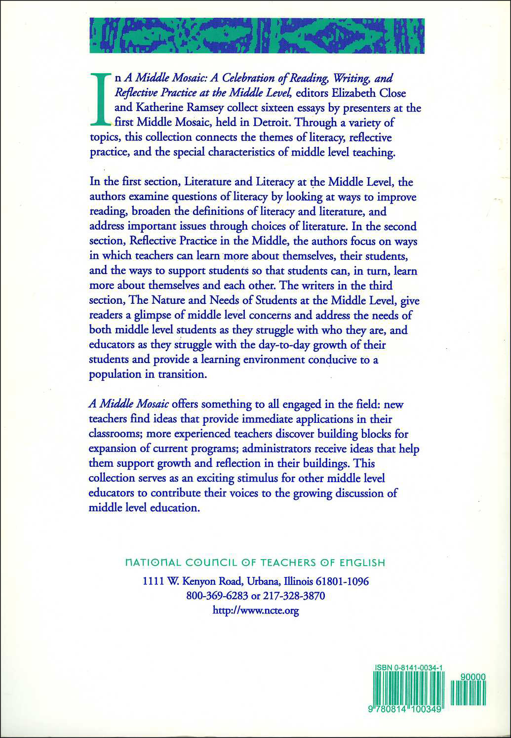reflecting on literacy essay Reflection paper reading and literacy edl 548 december 19, 2001 as my third online class, reading and literacy comes to a close, i would like to pause and reflect.