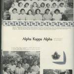 Alpha Kappa Alpha Sorority, Illio, 1953.