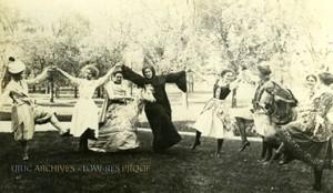 May Fete Costume Dancing c. 1911