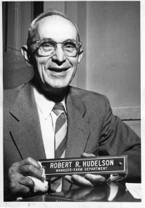 Robert R. Hudelson during his time as a professor.