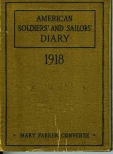 Robert Hudelson's war diary.