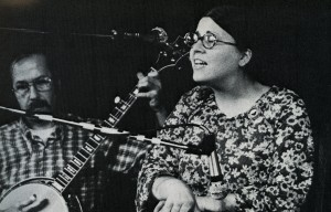 Redwing Labor Singers of Milkwaukee performing at the first National Women's Music Festival, 1974