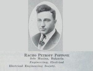A Photograph of Racho P. Poppove