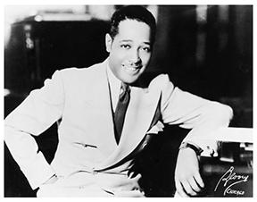 Duke Ellington at the piano, Frank Driggs Collection