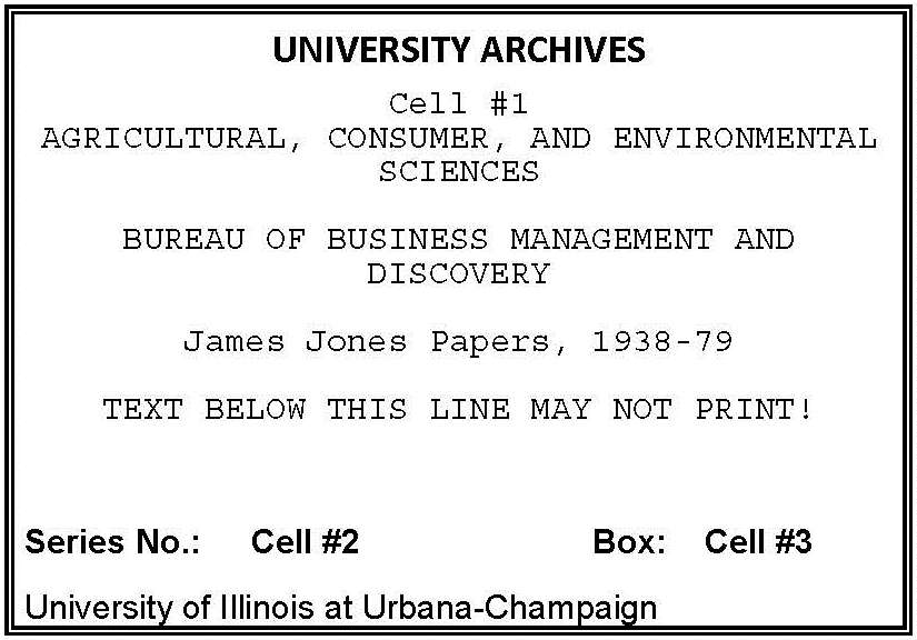 creating box labels university of illinois archives