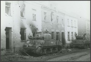 """Sherman Tank"" RS 26/20/70, MMischnick Sherman, Germany, February, 15-26, 1945."