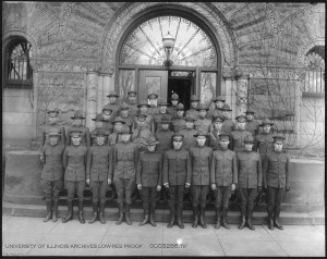 School of Military Aeronautics instructors, fall 1917.