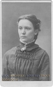 Mary Louisa Page, the first woman to graduate from the College of Engineering (1879)