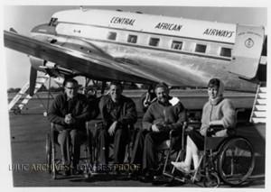 """""""Have Wheelchair-Will Travel"""" Tour 1962"""