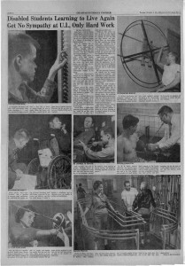 """""""Only Hard Work,"""" Champaign-Urbana Courier Article November 2, 1961"""