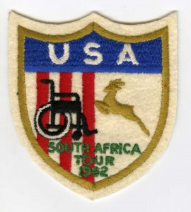 """""""Have Wheelchair-Will Travel"""" Tour Commemorative Patch, 1962"""
