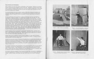 Design Buildings to Permit their use by the Physically Handicapped. Fall 1960. Found in Series 16/6/1, Box 4